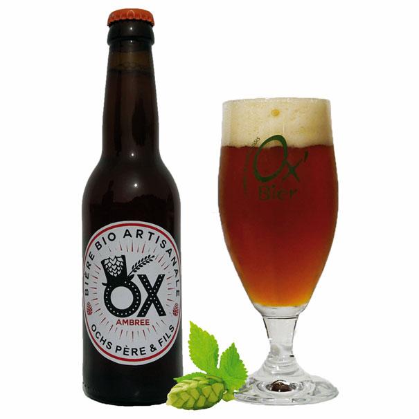 Bière Ambrée artisanale OX