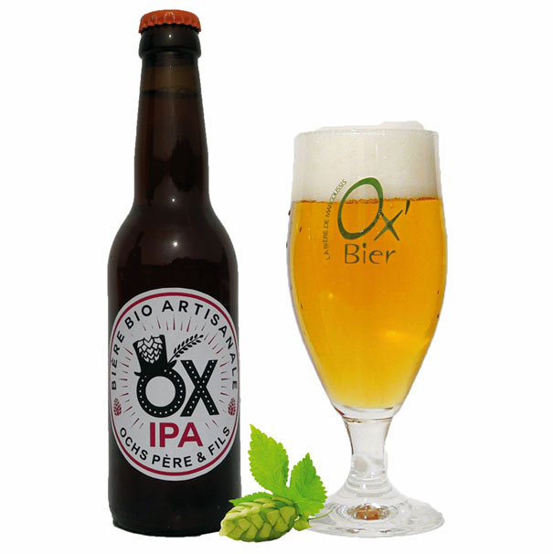 Bière Simple IPA artisanale OX
