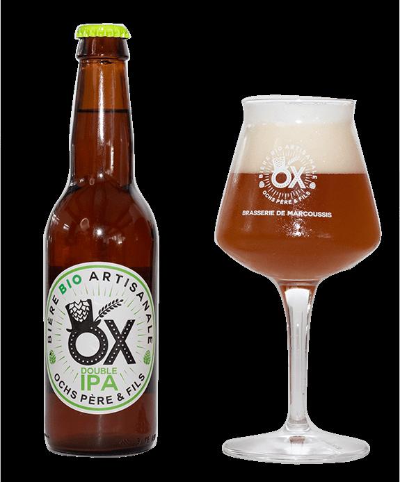 Bière Double IPA artisanale OX