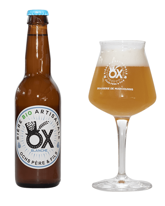 Bière Blanche artisanale OX
